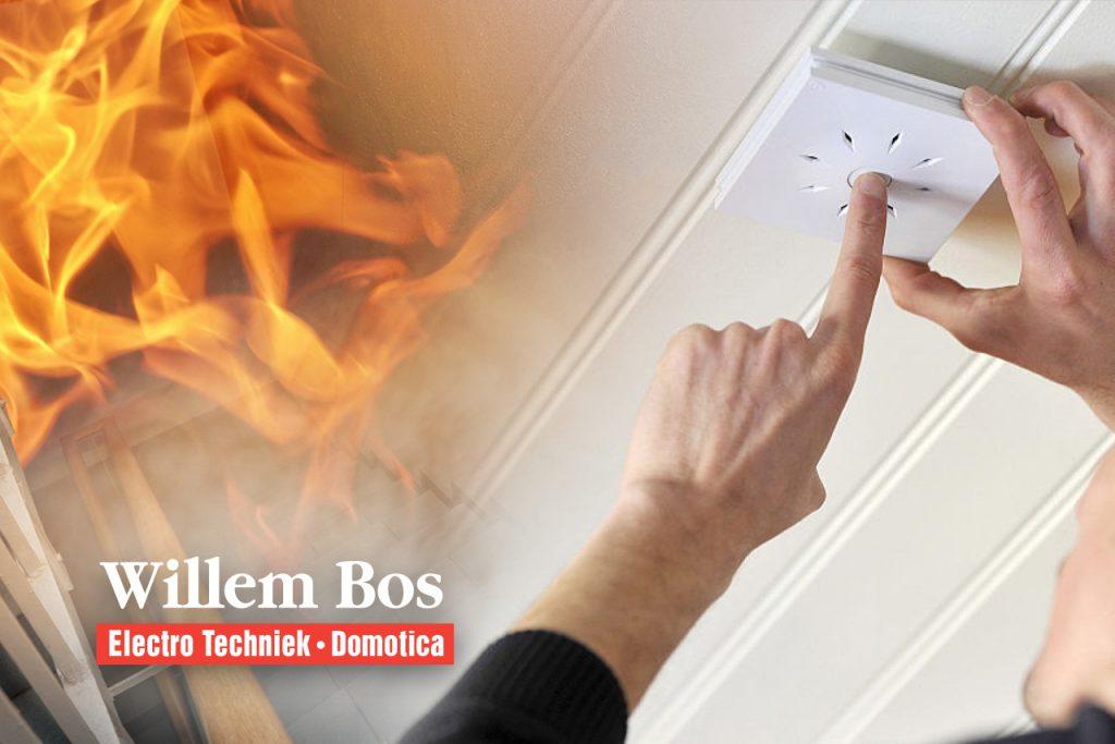 Rookmelders verplicht - installatie rookmelders ETB Willem Bos